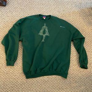 Vintage Champion Christmas Sweatshirt